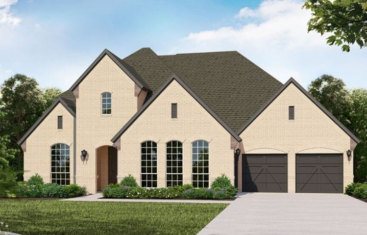 Belclaire Homes Plan B834 Elevation A in Canyon Falls